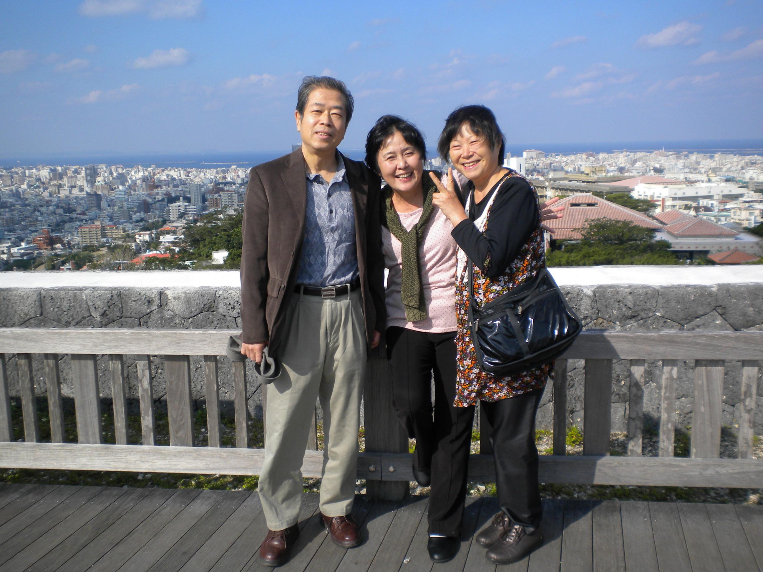 江口夫妻と玲子さん